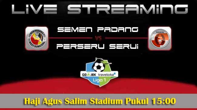 live streaming semen padang vs serui 28 oktober 2017