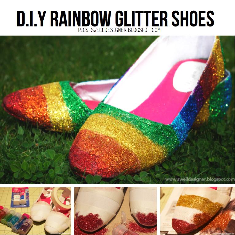 Idea Diy Diy Gold Sequin Shoes Decorar Zapatos Con