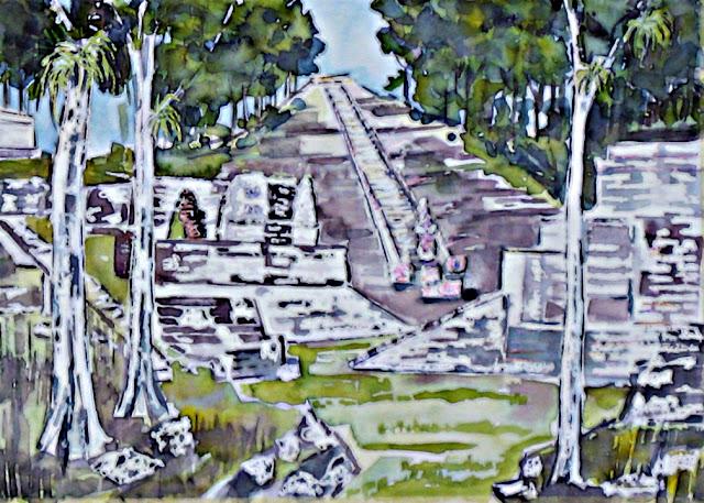 Hieroglyphic Stairway Copan Honduras