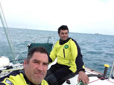 Bientot la Transat AG2r pour Gildas Morvan et Alexis Loison