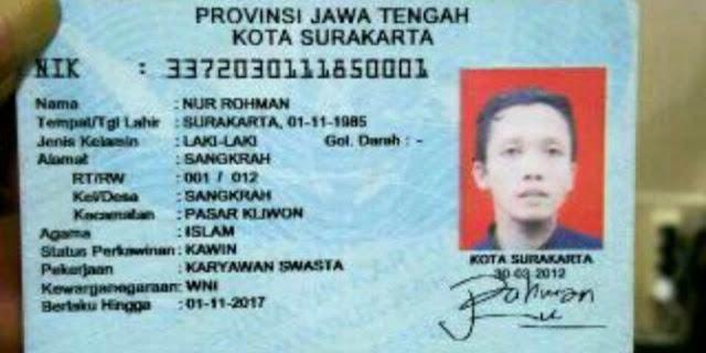 Terungkap Ini sepak terjang & jaringan Nur Rohman, bomber di Mapolresta Solo