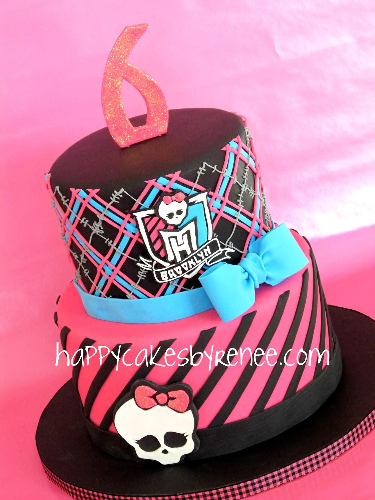 Happy Cakes Bakes Monster High Themed Cake