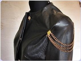 DIY / broszki łańcuszki / chain brooch