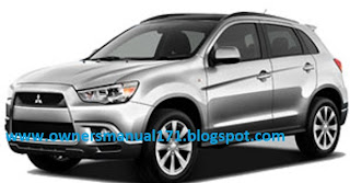 Owners Manual Download  2012 mitsubishi RVR canada    user    manual
