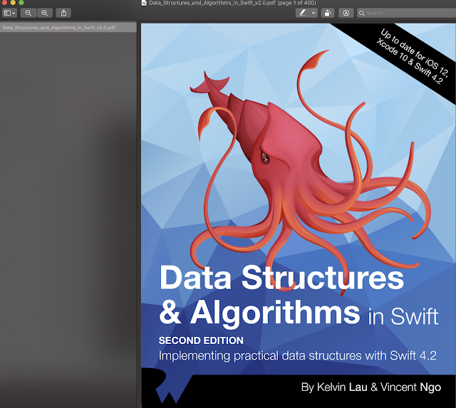 Data Structures and Algorithms in Swift Update Swift 4.2 and IOS 12