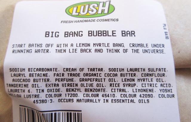Lush Big Bang Bubble Bar Review