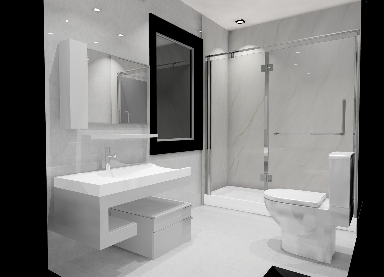 Interiores Minimalistas Ba Os Modernos Y Elegantes Of Banos Modernos - Muebles-de-bao-minimalistas