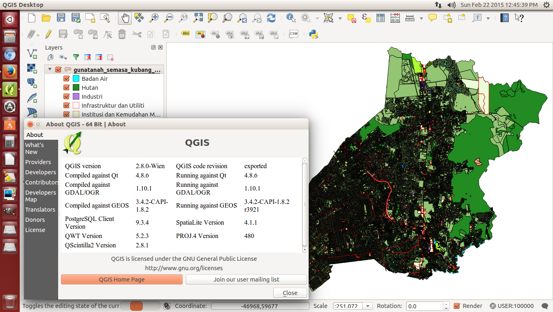 QGIS MALAYSIA: Ubuntu QGIS Ver  2 8 Wien installed!