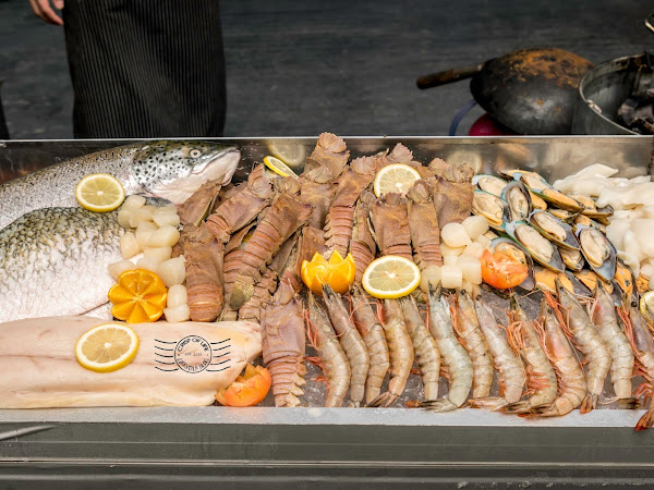From The Sea Into The Fire Seafood Extravaganza Buffet dinner @ Hardwicke House
