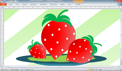Strawberry di Powerpoint, Sipowerpoint