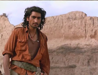 Nirmal Pandey as Vikram Mallah in Bandit Queen, Directed by Shekhar Kapur