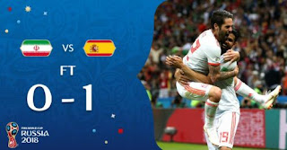 Iran vs Spanyol 0-1 Highlights - Piala Dunia 2018