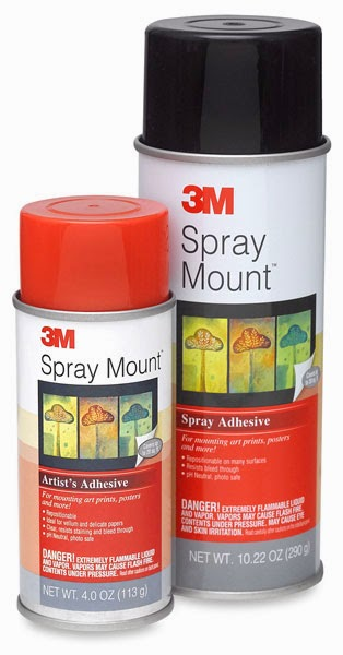 Shirley Pando All About Adhesives Spray Adhesives