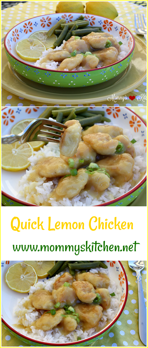 Mommys kitchen recipes from my texas kitchen quick lemon chicken save or pin to your favorite pinterest board forumfinder Image collections