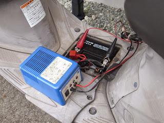 アドレスV125Gに搭載中のYTX7A-BS台湾ユアサバッテリー