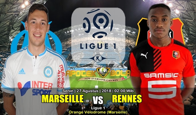 Prediksi Olympique Marseille Vs Rennes 27 Agustus 2018
