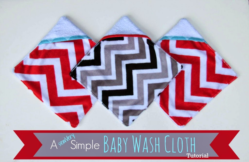 sewVery: Baby Wash Cloth Tutorial