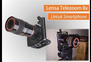 Sebagaimana beberapa ulasan aku sebelumnya Lensa Telezoom untuk Smartphone, Hasil Fotonya dapat Bokeh Lho...