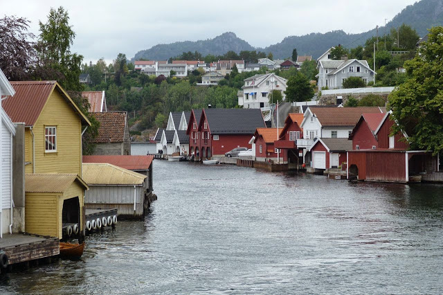Noorwegen Fekkefjord haven