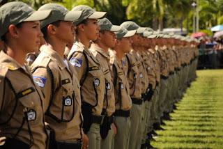 Estão abertas as inscrições para concurso público da Polícia Militar de Pernambuco