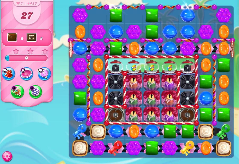 Candy Crush Saga level 4423