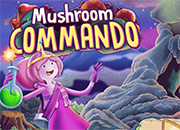 Adventure Time Mushroom Command juego