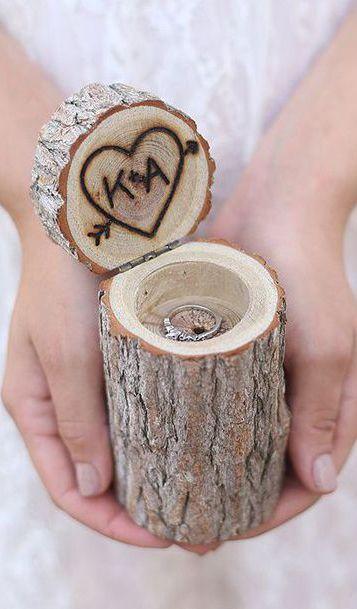 Un pequeño tronco de árbol - Foto: Lovely Clusters