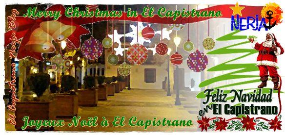 Disfrute sus vacaciones de Navidad en El Capistrano, Nerja, Costa del Sol