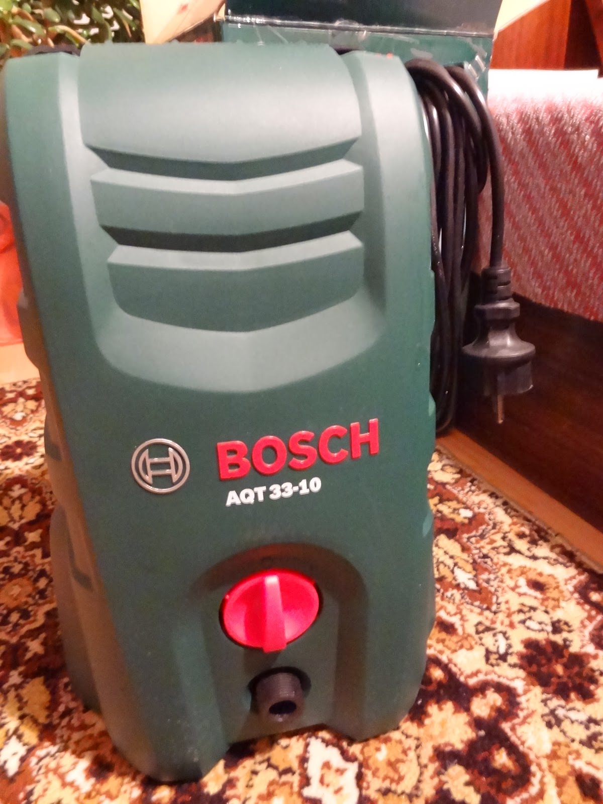 Test And Review Bosch Aqt 33 10 High Pressure Washer