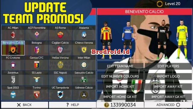 Download FTS 18 Full Transfer All Club 2018 Mod Apk Terbaru
