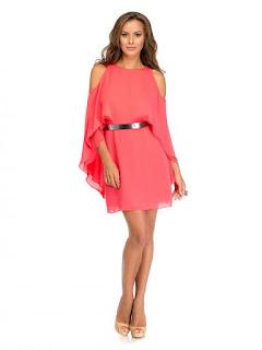 rochie asimetrică halston-heritage