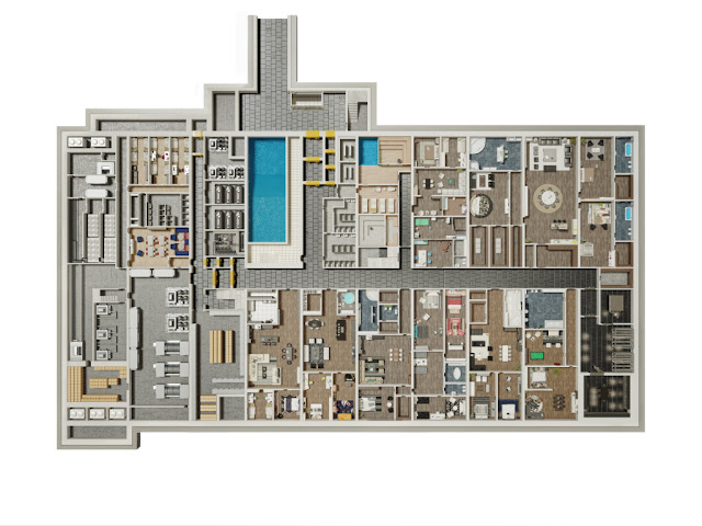 Image Second Floor The Oppidum : Billionaire Bunker :The Czech Republic