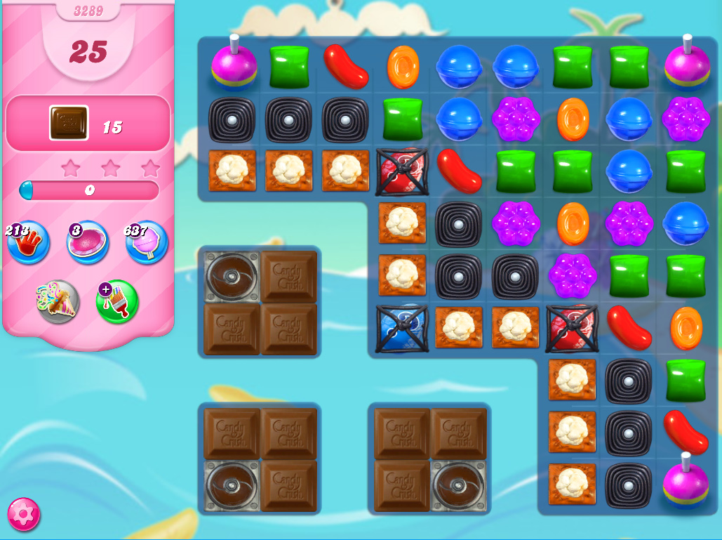 Candy Crush Saga level 3289
