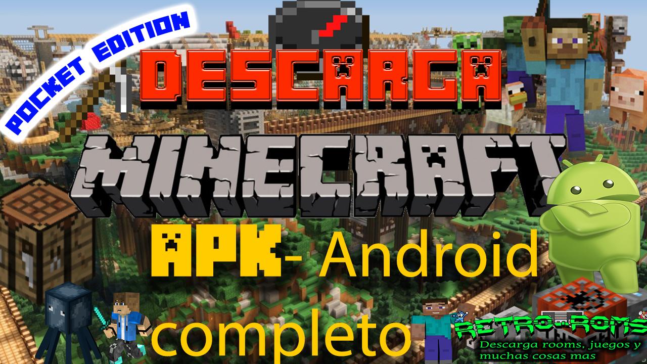 descargar minecraft gratis android completo