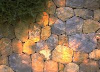 Gartenmauer auf Mallroka für einen mediterranen Garten