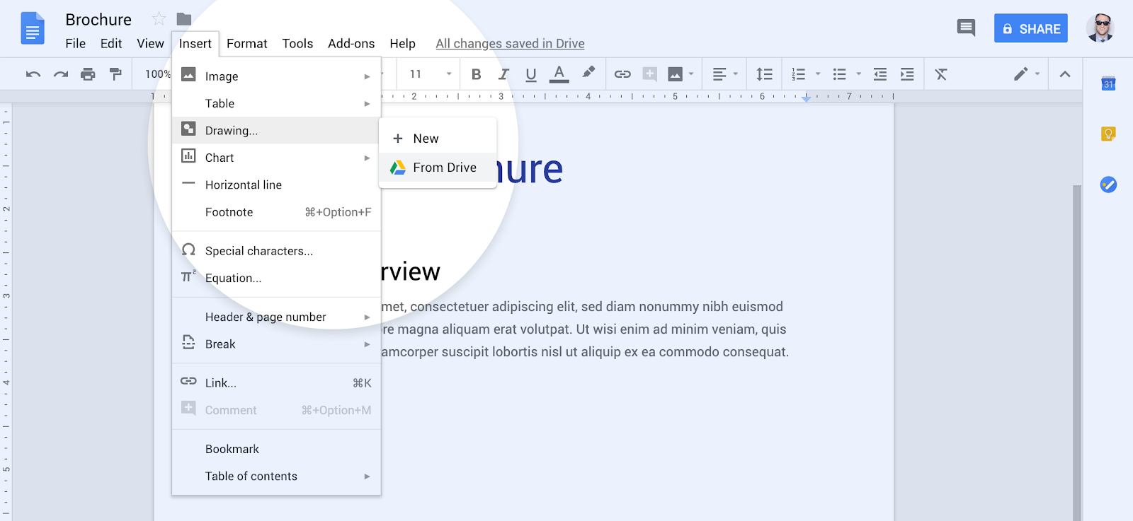 G Suite Updates Blog Embed Google Drawings In Google Docs