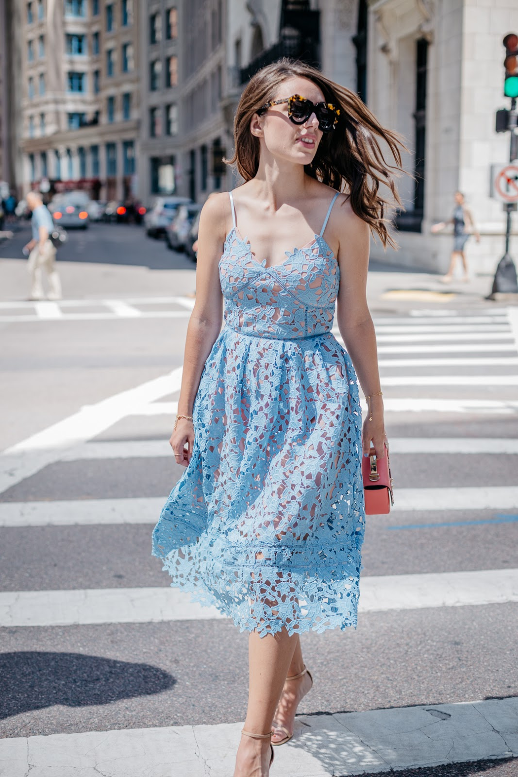 Pretty and practical, this new lace midi dress is my new go-to for summer in the city. Bonus? It costs less than $50!