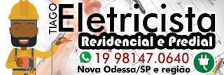 Instalações elétricas e pequenos reparos em geral