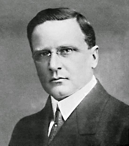 Alberto Bins, em 1916, na época em que era deputado estadual.
