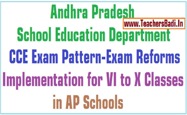 CCE Exam Pattern,Exam Reforms,AP Schools