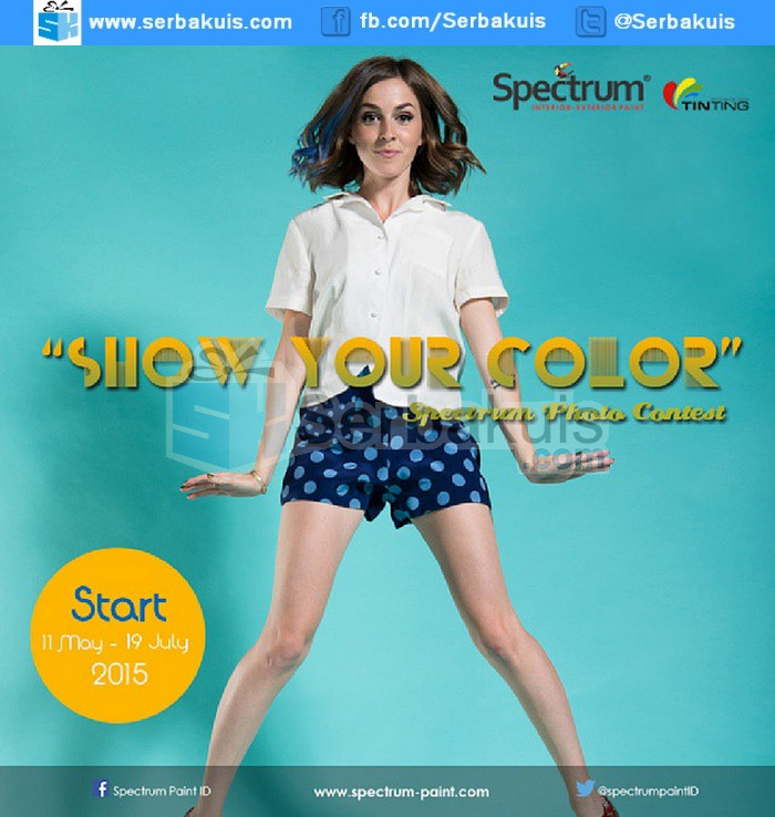 Kontes Foto Fashion Show Your Color Berhadiah 1 Juta