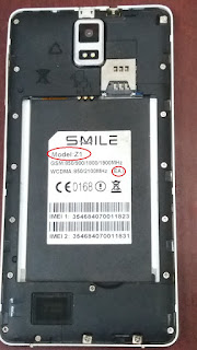 SMILE Z1 Flash File download | MT6580 Stock Firmware File