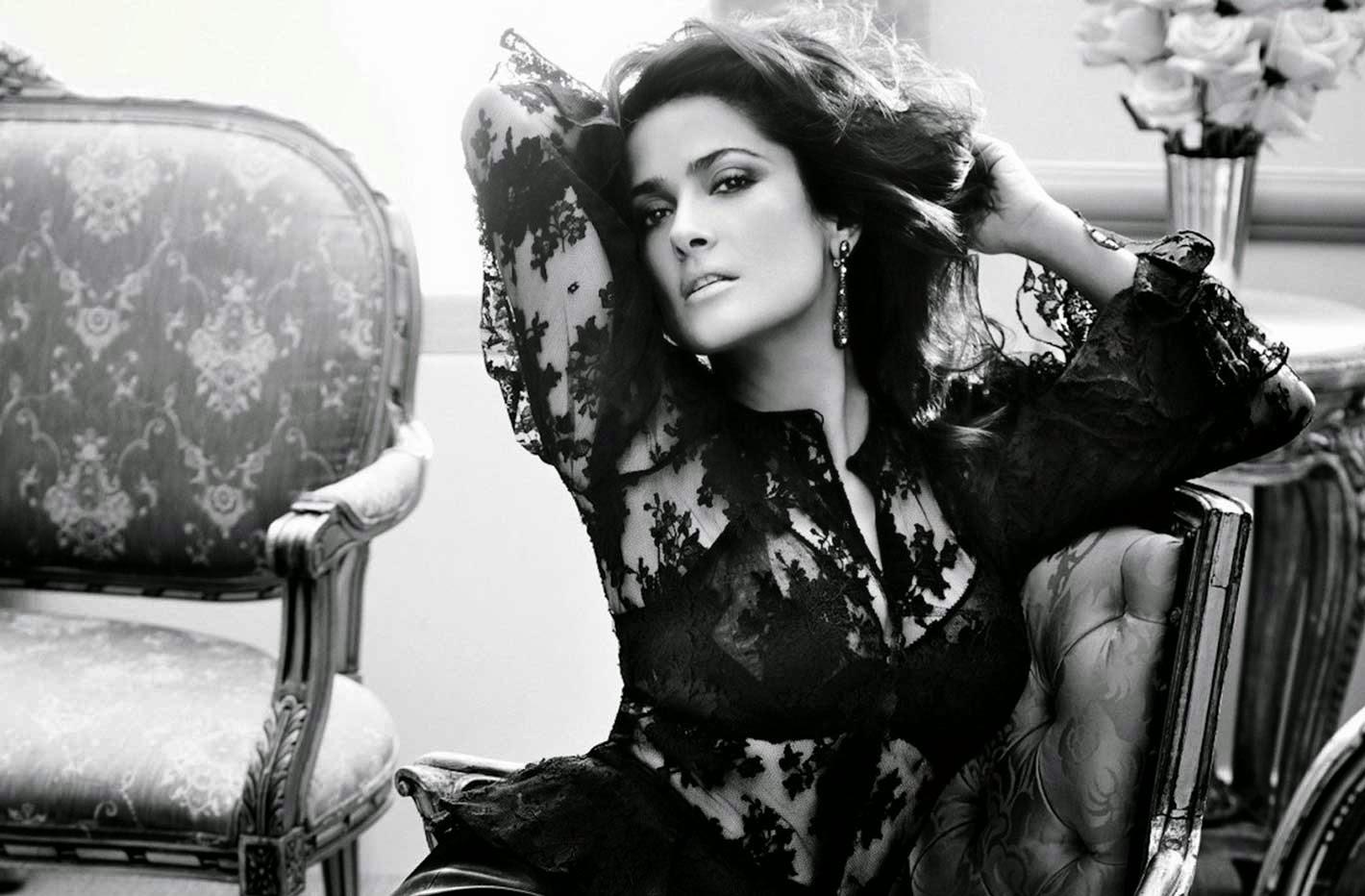 Salma Hayek Photoshoot 2013