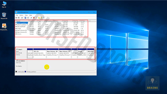 Phoenix OS - Disk management multiple drives