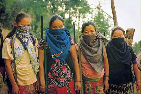COMMUNIST WOMEN ARMY NEPAL WHAT TRUTH LOOKS LIKE