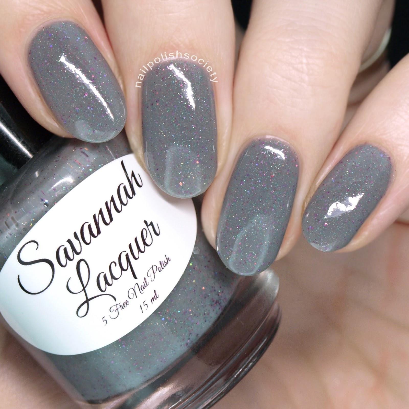 Nail Polish Society: Savannah Lacquer Springtime in Savannah Collection