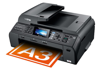 Widescreen color LCD display for slow to last card navigation too access to help informati Brother MFC-5895CW Driver Downloads