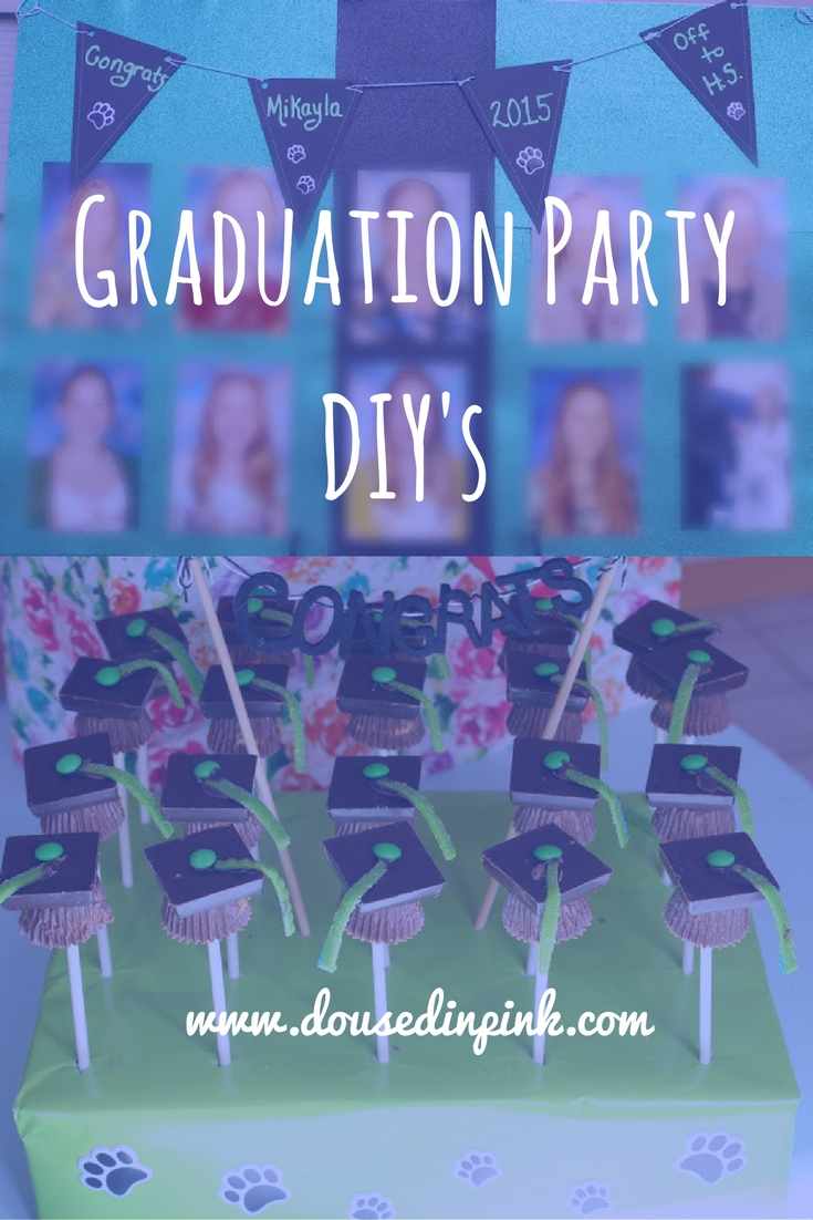 graduation party ideas your grad will love - doused in pink