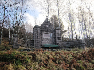 The monument on Pannanich Hill, Ballater, Deeside