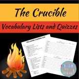 The Crucible Vocabulary List